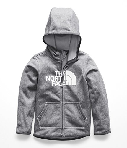 - The North Face Todd Surgent Full Zip Hoodie - TNF Medium Grey Heather - 4T