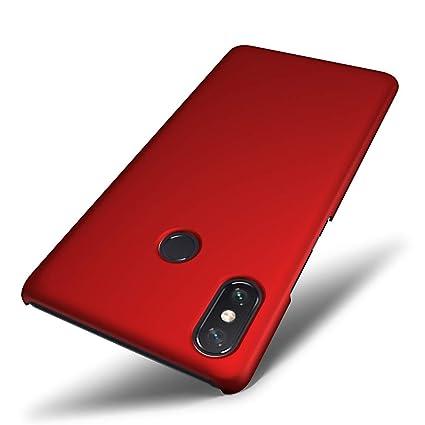 Amazon.com: SLEO Xiaomi Mi Max 3 - Carcasa rígida de goma ...