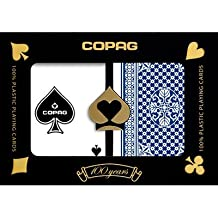 Copag Poker Size Regular Index - Pinochle Setup Playing Cards (Multi) by Copag