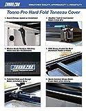 Tonno Pro LR-1055 Lo-Roll Black Roll-Up Truck Bed Tonneau Cover 1973-1983 Chevrolet C10, K10/GMC C1500, 1987 Chevrolet R10/GMC R1500, 1980-1986 GMC C1500, 1975-1986 K1500   Fits 6.5' Bed