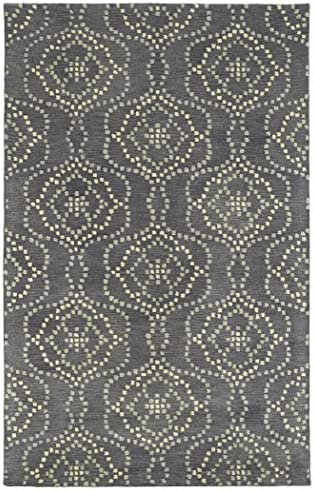 Kaleen Rosaic Collection Hand Tufted Rug, 9 6 x 13 , Slate