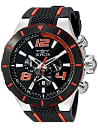 Invicta Men's 20105 S1 Rally Analog Display Japanese Quartz Black Watch