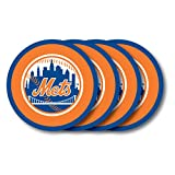 MLB New York Mets Vinyl Coaster Set (Pack of 4) - LVC