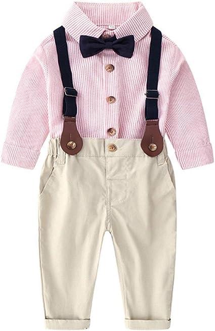 Conjuntos de ropa para niños pequeños De dos piezas camiseta ...