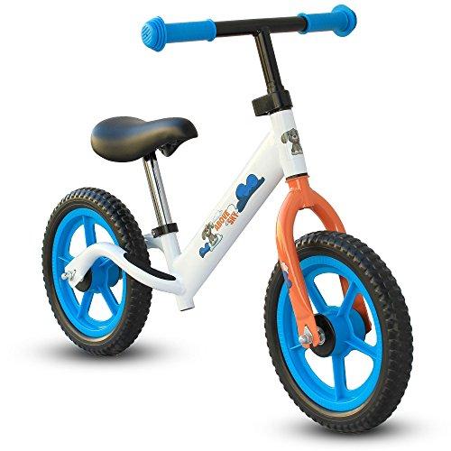 CyclingDeal Kids Child Push Balance Bike Bicyle 12″ Animal