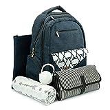 BabyTalia Stylish Diaper Bag Backpack Designed – Baby Care Large - Changing Pad
