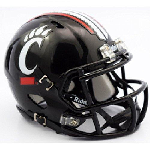 Riddell NCAA Cincinnati Bearcats Replica Speed Full Size Football Helmet Cincinnati Bearcats Replica Mini Helmet
