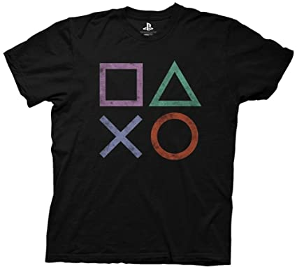 Desolate Ripple Junction PlayStation Vintage Icon Adult T-shirt