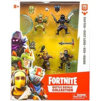 fortnite battle royale collection 4 action figure squad pack - pack fortnite 25