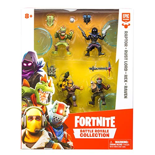 (Fortnite Battle Royale Collection: 4 Action Figure Squad Pack)