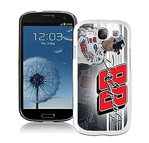 Dale Earnhardt Jr 2 White Cool Photo Custom Samsung Galaxy S3 I9300 Phone Case