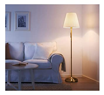 LIHUA Lampadaire Étude De Chambre Salon Salon Canapé Protection Oculaire    Beige/Rouge   Lampe