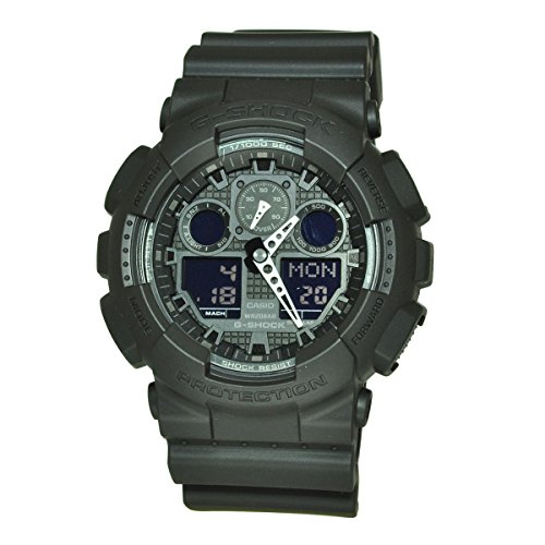 - Casio G-Shock Men's Big Combi Military Series Watch, Black, One Size
