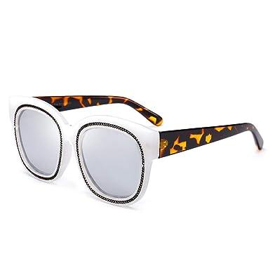 wwttoo Gafas de sol decorativas de cuerda metálica de moda ...