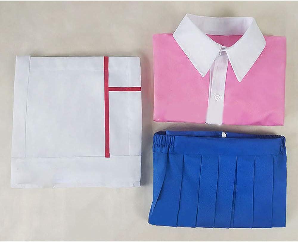 Steeler Danganronpa Cos Monokum/Mikan Tsumiki/Sonia Nevermind/Akamatsu Kaede/Harukawa Maki/Maizono Sayaka/Koizumi Mahiru/Chabashira Tenko/Mioda Ibuki Costume Outfit Mikan Tsumiki
