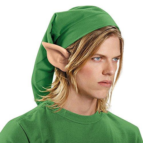Disguise Men's Link Hylian Adult Costume Ears, Beige, One Size