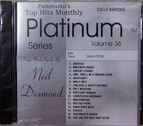Top Hits Monthly Karaoke: The Hits of Neil Diamond - 5 Disc Karaoke Player