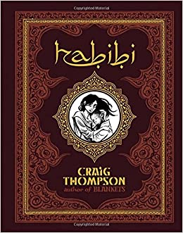 Image result for habibi by craig thompson