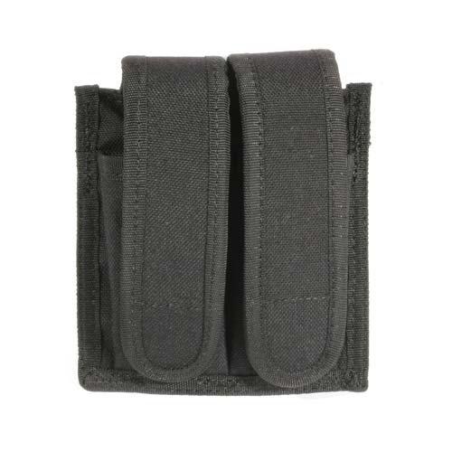 BLACKHAWK! Traditional Black CORDURA Universal Double Mag Case (Mag Double Universal Case)