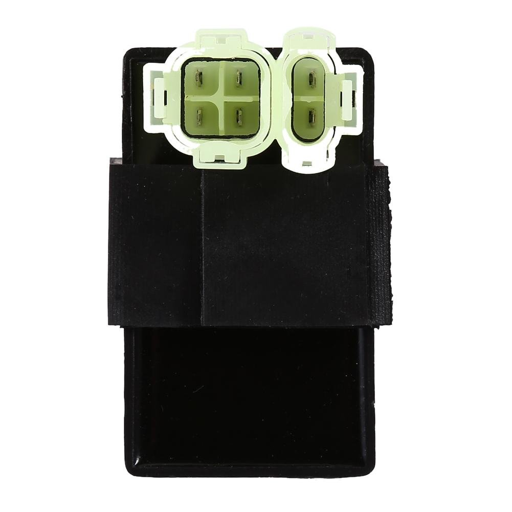 6 Pins CDI Igniter Module Box Electronic Igniter, Motorcycle 4 Wheeler Quad Bikes Coil Solenoid Relay Voltage Regulator for GY6 50cc 125cc 150cc ATV Moped Scooter GO KART Keenso