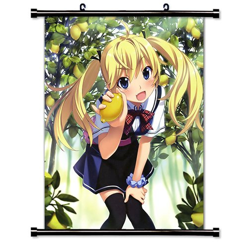 Grisaia no Kajitsu Anime Fabric Wall Scroll Poster (16 x 20) Inches. [WP] Grisaia- 7