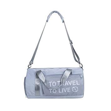 YUELANG Elegante Exterior Impermeable Nylon Sports Gym Bags ...
