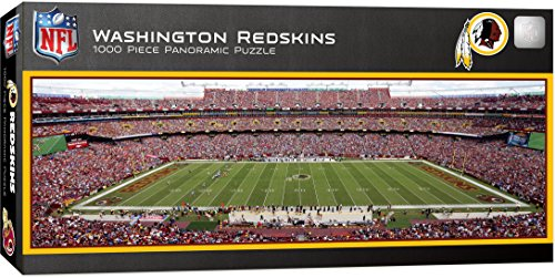 (MasterPieces NFL Washington Redskins 1000 Piece Stadium Panoramic Jigsaw Puzzle)