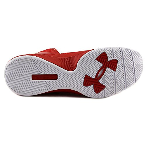 White UA Metallic Mens 2 Drive Shoes Red Clutchfit Silver 4dC8ZHq