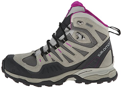 Gtx Salomon anemone Women's Titanium Titanium Boot dark Purple Conquest qfSERSP