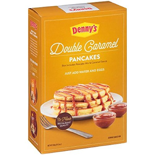 Dennys Double Caramel Pancake Mix   19 5 Oz