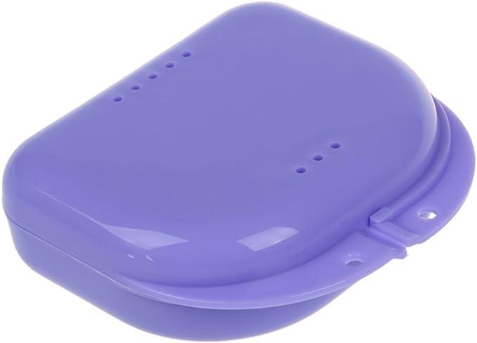 TOOGOO(R) 2 Caja para Ortodoncia dental o Dentadura Multicolor: Amazon.es: Salud y cuidado personal