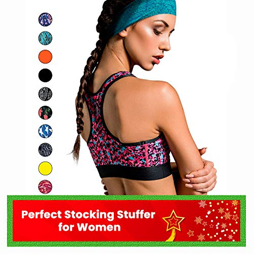 Cooling Headbands for Women & Men | Moisture Wicking Sweatband & Sports Headband | Stay Cool During Workouts Cycling…