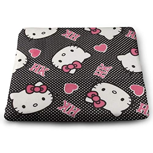 Wshha Perfect Outdoor/Indoor Cute Hello Kitty Square Cushion-Home Fashions 13.7