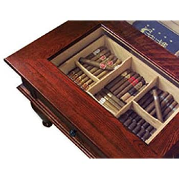 Quality Importers Trading Coffee Table Humidor