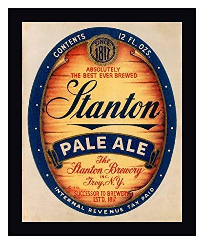 Stanton Pale Ale Beer by Vintage Booze Labels - 19