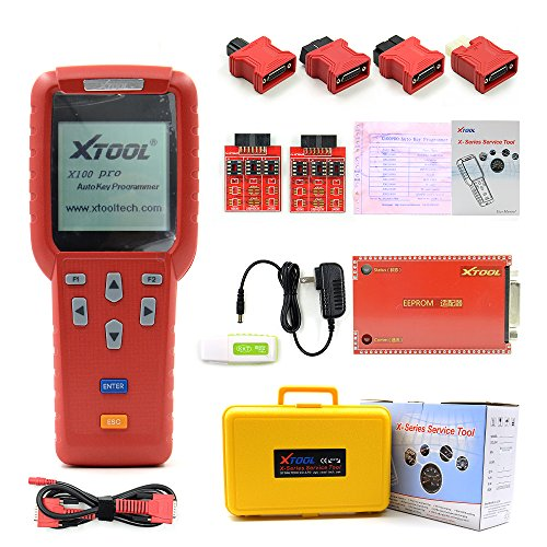Original XTOOL X100 Pro Auto Key Programmer X-100 Key Programmer For Car's ECU Immobilizer Pin Code Reader X 100 Update Online Multi Brand Cars Get Eeprom adaptor - Programmer Ecu