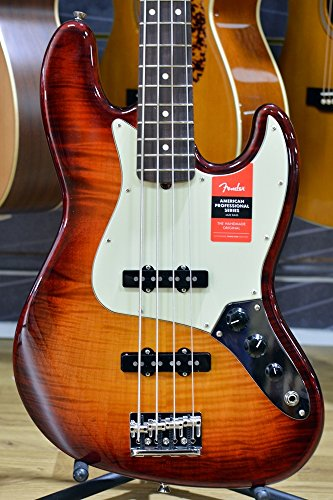 Fender Limited Edition American Professional Jazz Bass FMT Aged Cherry Sunburst