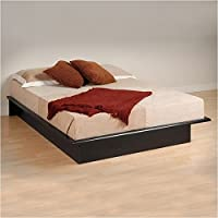 Hawthorne Collections Queen Platform Bed in Black