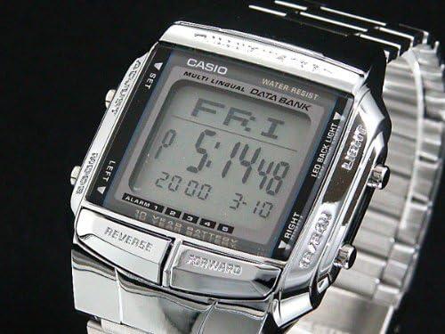 カシオ CASIO データバンク DATA BANK 腕時計 シルバー DB360-1A [並行輸入品]