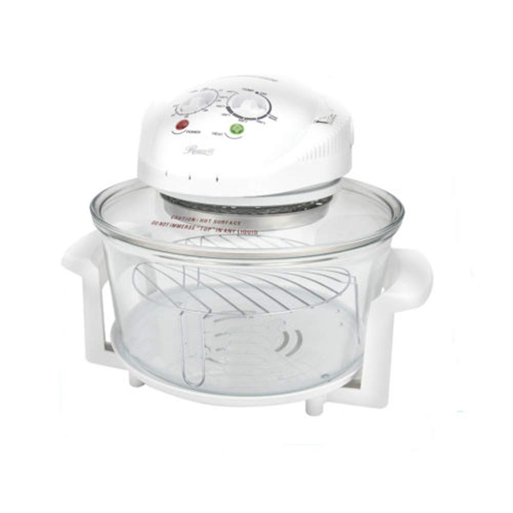 Grateshop1 Oven Convection Infrared Halogen Digital Convection Infrared Halogen Oven 8 qt Glass Multifunction Energy Saving Cooking