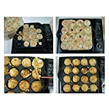 UPIT 16-Holes Takoyaki Maker Pan Plate for
