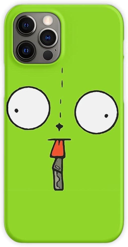 Invader Anime Gir Zim Robot Green Poop - Phone Case for All of iPhone 12, iPhone 11, iPhone 11 Pro, iPhone XR, iPhone 7/8 / SE 2020 - Customize