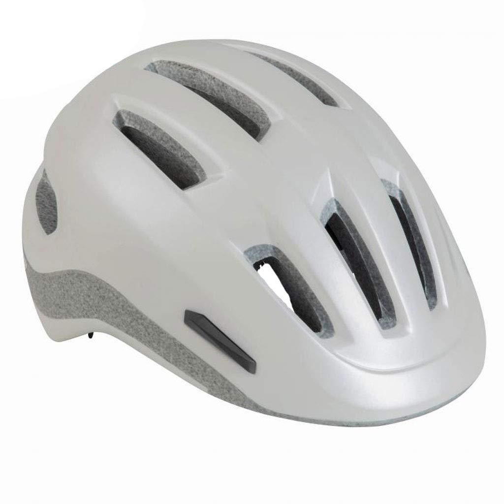 GWM Mountainbike-Helm, Fahrradhelm, Sonnenbrille mit offenem Gesicht für Motorradrennen, Sportschutzhelm (Farbe   Weiß)
