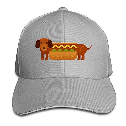 Creative Hamburger Hot Dog Fashion Design Unisex Cotton Sandwich Peaked Cap Adjustable Baseball Caps Hats -