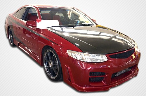1999-2001 Toyota Solara Duraflex R34 Body Kit - 4 Piece - Includes R34 Front Bumper Cover (102171) VIP Rear Bumper Cover (102174) VIP Side Skirts Rocker Panels (102175)