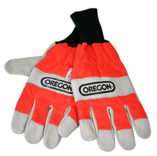 Use Chainsaw - Oregon Large Chain Saw Safety Gloves.