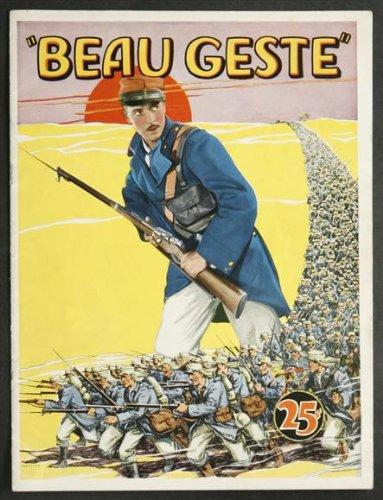 Beau Geste Movie Poster (27 x 40 Inches - 69cm x 102cm) (1926) -(Ronald Colman)(Neil Hamilton)(Ralph Forbes)(Alice Joyce)(Mary Brian)(Noah Beery)