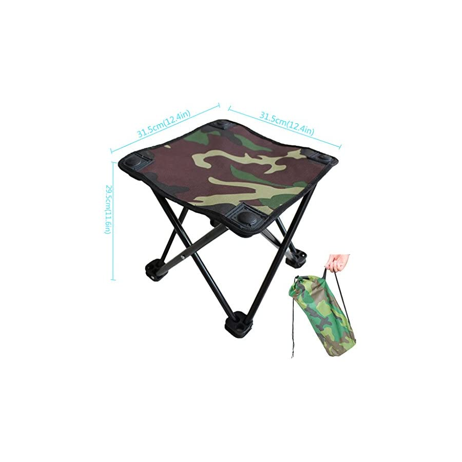 Vivoice Small Folding Chair Stool Camping Stool Furniture Stools Camp Stool for Camping/Traveling