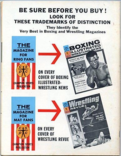 Buy boxing illustrated wrestling