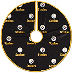 Pegasus Sports NFL Pittsburgh Steelers Christmas Tree Skirt